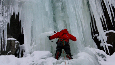 Ice Climbing in Norway